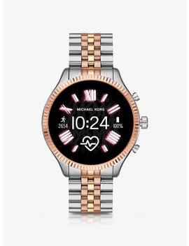 Lexington 2 Tri Tone Smartwatch by Michael Kors Access