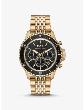 Bayville Gold Tone Watch by Michael Kors