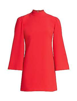 Bailey Bell Sleeve Shift Dress by Alice + Olivia