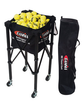 Gamma Tennis Ez Travel Cart 150 Ball Hopper by Gamma