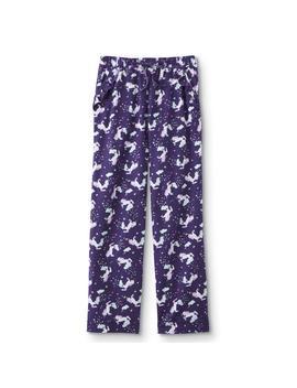 Joe Boxer Juniors' Flannel Pajama Pants   Unicorn by Joe Boxer