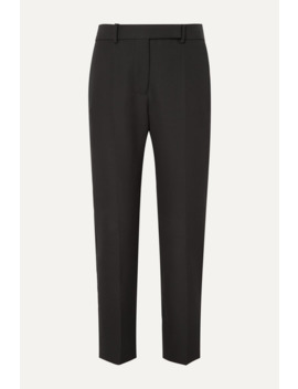 Grain De Poudre Wool Tapered Pants by Haider Ackermann