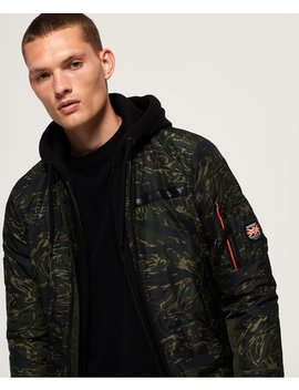 Rookie Flight Bomber Jacket by Superdry