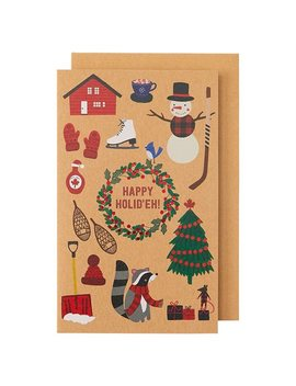 Holiday Boxed Cards Canadiana Icons by Indigo