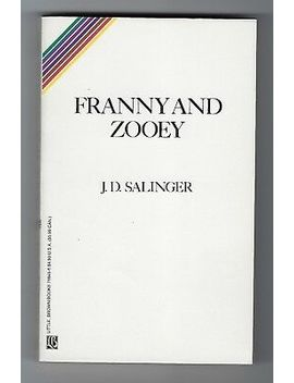 Franny And Zooey Jd Salinger Classic Literature 1991 Paperback Little Brown Book by Ebay Seller