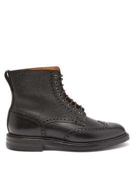 Grace 2 Leather Ankle Boots by Crockett & Jones