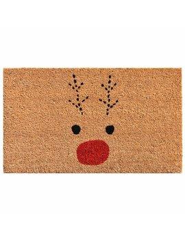 Bradly Rudolph Non Slip Outdoor Door Mat by Hashtag Home