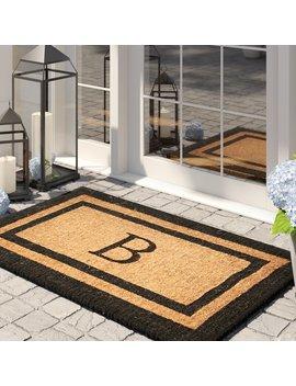 Ottavio Classic Outdoor Door Mat by Birch Lane™ Heritage