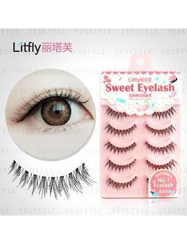 Litfly   Eyelash #107 (5 Pairs) by Litfly