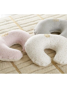 Metallic Gold Star Boppy® Nursing & Infant Support Pillow Slipcover Only  Ivory by Pottery Barn Kids