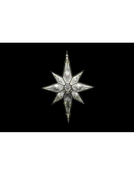 Warm White Bethlehem Star Tree Topper by The Holiday Aisle
