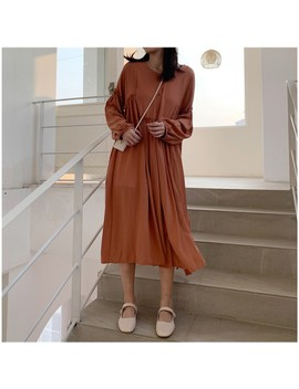 Nature Loose Fit Dress by Rinell