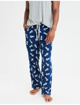 Aeo Astronauts Flannel Pant by American Eagle Outfitters