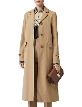 Farringdon Cotton Gabardine Car Coat by Burberry