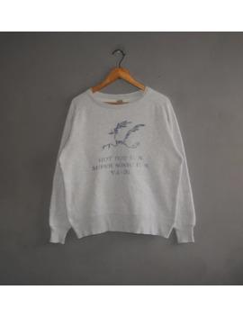 Buzz Rickson Roadrunners Va 36 Us Navy Squadron Sweatshirt by Buzz Rickson's  ×  Japanese Brand  ×