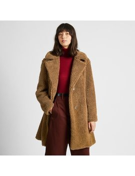 Women Fleece Lined Tailored Coat (85) by Uniqlo