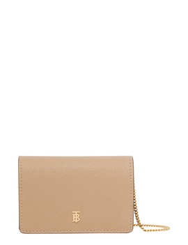 Jessie Tb Monogram Leather Card Case by Burberry