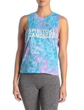 Karissa Tie Dye Muscle Tank by Spiritual Gangster