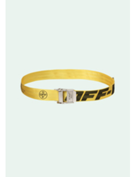 Yellow 2.0 Industrial Belt by Off White