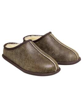 Kirkland Signature Men's Shearling Clog Slipper by Kirkland Signature