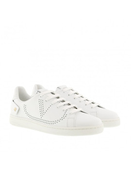 V Sneakers White by Valentino