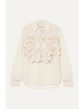 Ruffled Georgette Shirt by Comme Des Garçons Comme Des Garçons