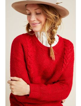 Allyson Cable Knit Sweater by Another Love