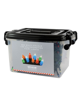 300 Warm Colour Multi Func Plastic Tub by Myer Giftorium