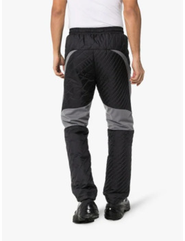 X Kiko Kostadinov Black Two Tone Sweatpants by Asics