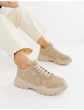 Asos Design – Drone – Klobige Sneaker In Sand by Asos