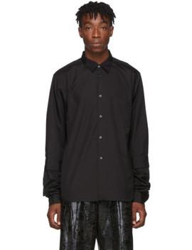 Black Double Sleeve Shirt by Comme Des GarÇons Homme Plus