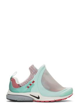 Blue Nike Edition Air Presto Foot Tent Sneakers by Comme Des GarÇons Homme Plus