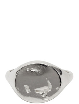 Silver Signet Ring by Pearls Before Swine