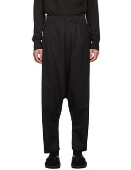Black Sarowel Trousers by Sulvam