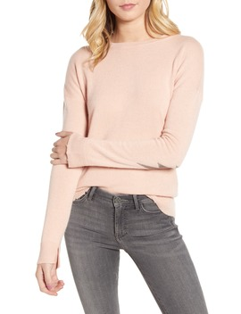 Cici Patch Sleeve Cashmere Sweater by Zadig & Voltaire