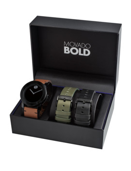 Men's Tr 90 Watch Gift Set by Movado Bold