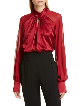 Enna Silk Blouse by Max Mara