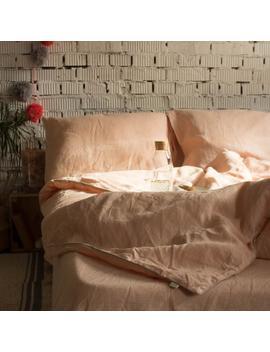 Organic Linen Boho Duvet Cover. Premium Textiles. Free Shipping. Lino Naturale, Copripiumone Stile Boho. Enzima Ammorbidito. by Etsy