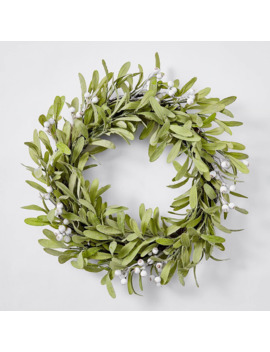 Natural Nostalgia Green Vine Leaf Wreath by Target