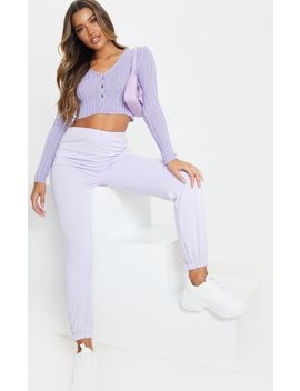 Lilac Skinny Fit Cardigan by Prettylittlething