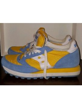 Saucony Jazz Original Yellow/Blue Us Size 8 by Ebay Seller