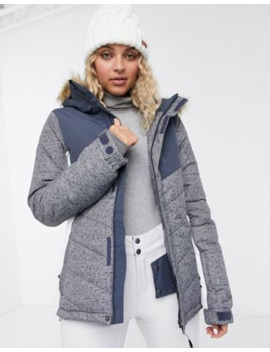 Protest Winter Jacket In Grey by Protest