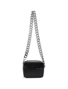 Black Camera Chain Bag by Kara