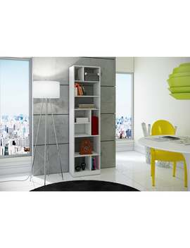 Accentuations By Manhattan Comfort Durable Valenca Bookcase 4.0 With 10 Shelves by Manhattan Comfort