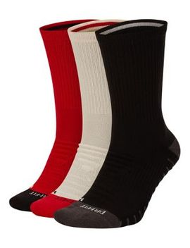 3 Pack Dri Fit Training Crew Socks by Nike