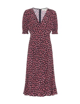 Idris Floral Crêpe Midi Dress by Diane Von Furstenberg