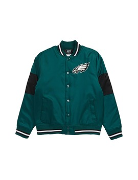 Nfl Logo Philadelphia Eagles Throwback Varsity Jacket by Outerstuff