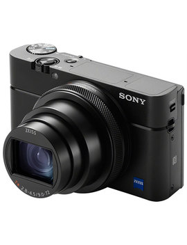 Sony Cyber Shot Rx100 Vi Wi Fi 20.1 Mp 8x Optical Zoom Digital Camera   Black by Best Buy