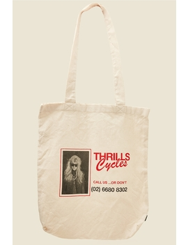 Call Us Tote Dirty White by Thrills