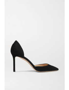 Esther Suede Pumps by Jimmy Choo